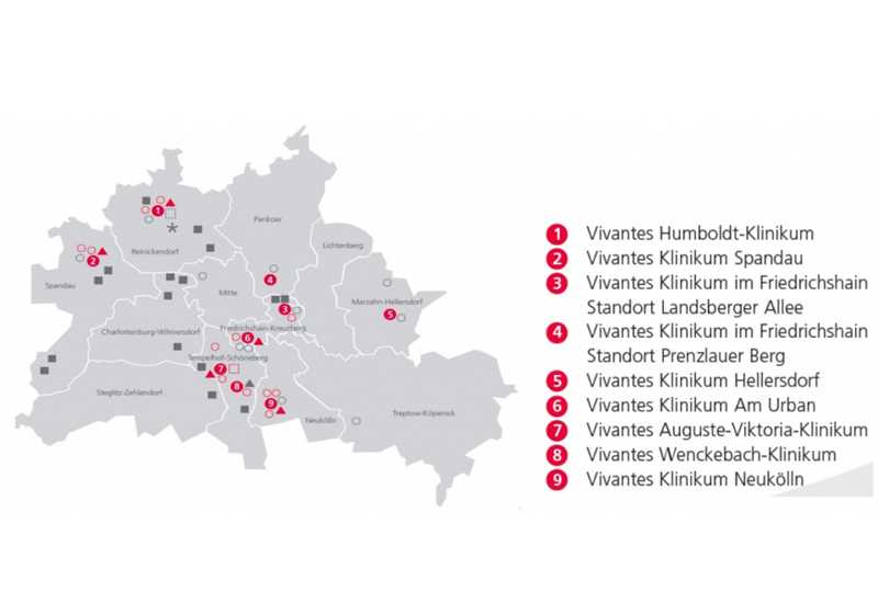klinik vivantes1 - Группа клиник Вивантес