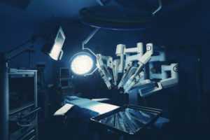Лечение роботом Да Винчи
